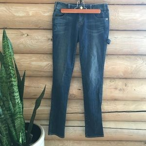 🍊Tory Burch Slim Painter Pant Jeans